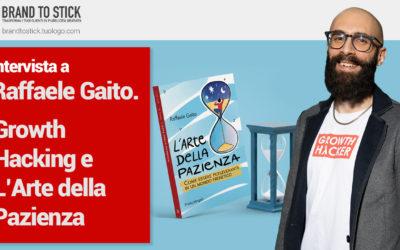 Intervista a: RAFFAELE GAITO. L'arte della Pazienza